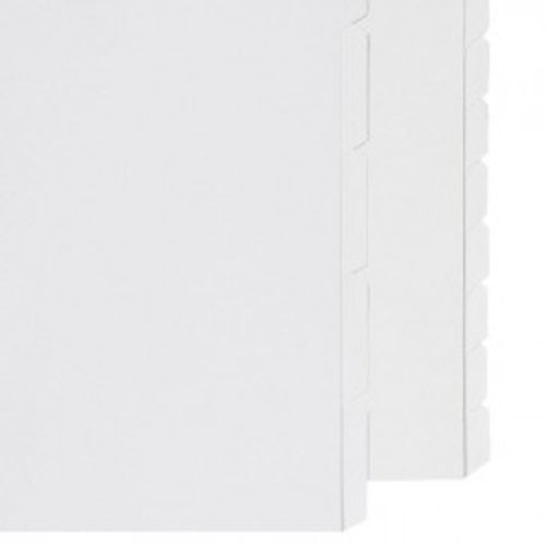 A4 and A5 Plain white dividers