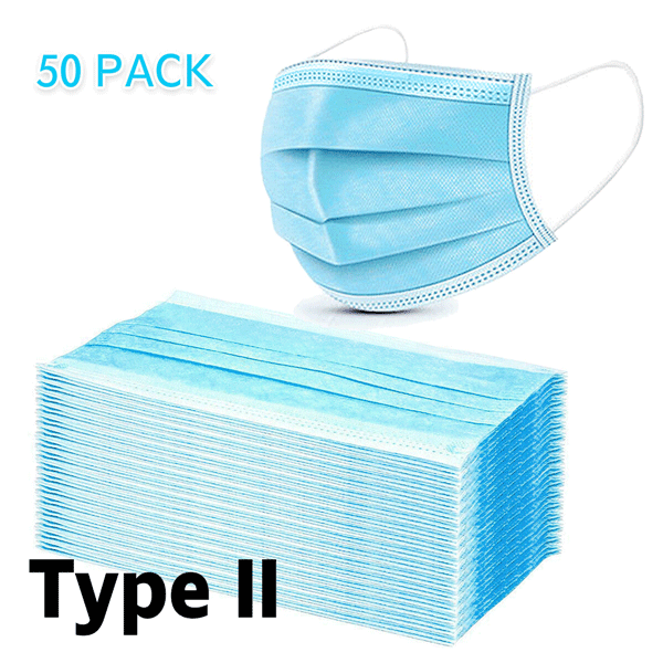 Disposable Type II R 3-ply Face Mask